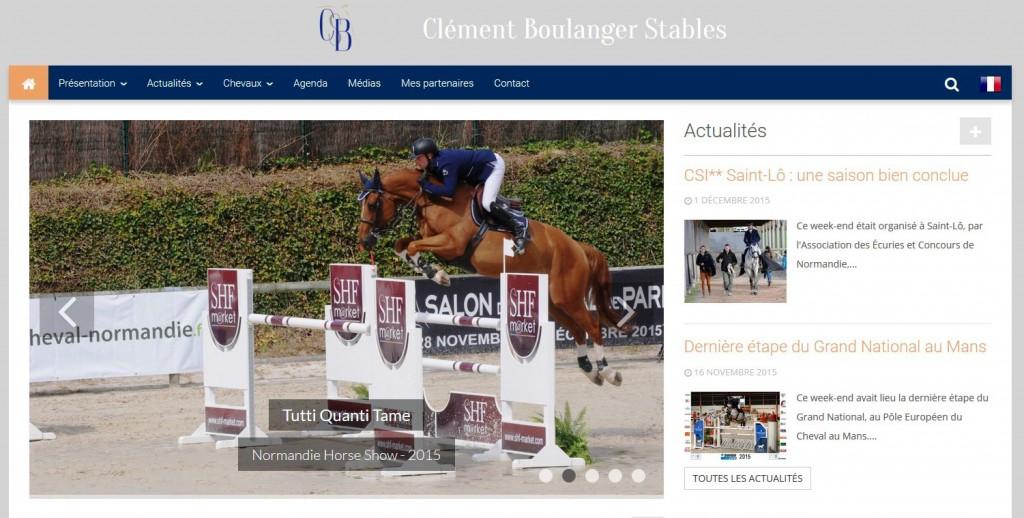 Clément Boulanger - équitation