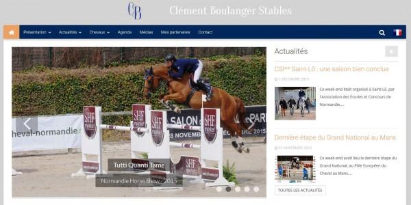 Clément Boulanger – équitation
