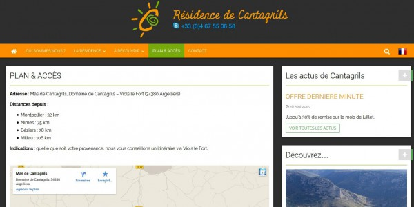 Résidence de Cantagrils