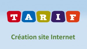 Tarifs Création Site internet