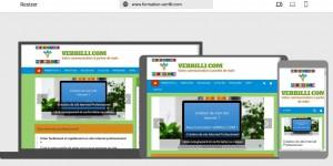 Un site en Responsive Design