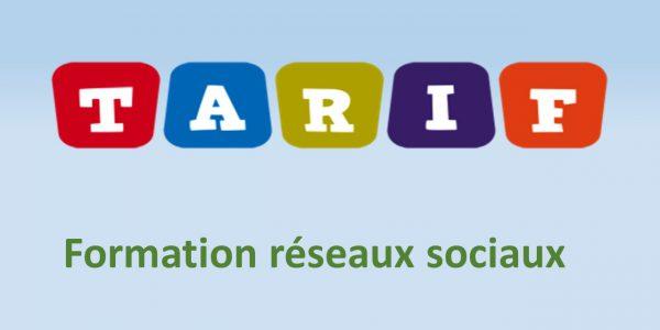 Tarifs Formation Réseaux Sociaux