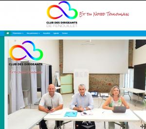 Création du site internet du Club des Dirigeants de Fenouillet